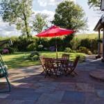 b and b Exeter-Tiverton-Devon-garden-1793Carr