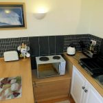 Kitchen area of the Old Boathouse self catering