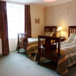 bed and breakfast berwick upon tweed Northumberland twin room 3530Mills