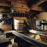 The original mill workings