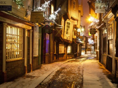 Cobbled streets and Festive treats