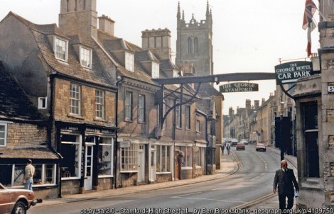 Stamford – A Unique Experience & Some Interesting History As Well!