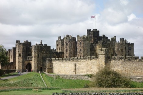 Visiting Northumberland for a mini break then stop off at Alnwick castle, it's magnificent