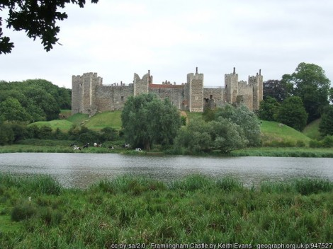 Visiting Suffolk for a long Weekend? then a Visit to Framlingham Castle, A magnificent 12th Century Fortress has to be on your list!